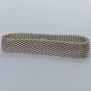 AUTH Tiffany & Co Sommerset mesh bracelet